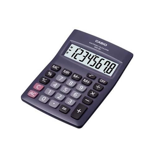 CASIO桌上型計算機MW-8V【愛買】