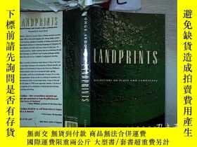 二手書博民逛書店Landprints:罕見Reflections On Place And Landscape 土地規劃:對地方和