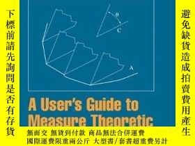 二手書博民逛書店A罕見User s Guide To Measure Theoretic ProbabilityY256260