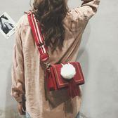包包上小時尚百搭寬肩帶斜背包超火包少女挎包 愛麗絲精品