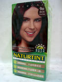 NATURTINT赫本~9R酒紅色染髮劑