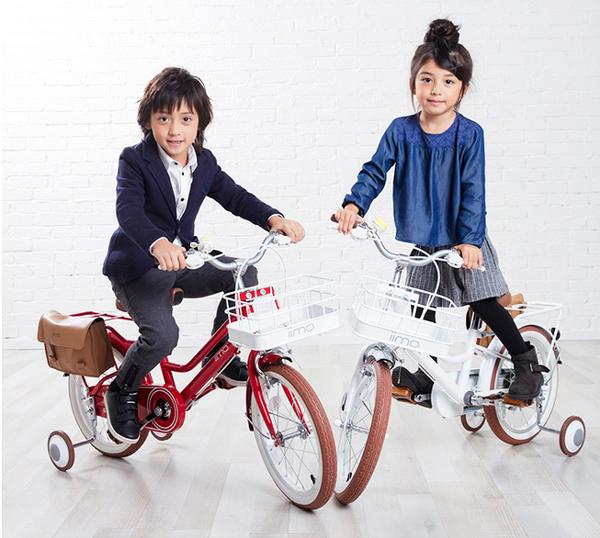 【免運-公司貨保固1年】加贈專屬側架 日本超人氣iimo兒童腳踏車16吋 日式經典設計