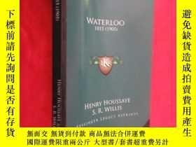 二手書博民逛書店Waterloo:罕見1815 (1905) (小16開 ) 【詳見圖】Y5460 Houssaye, Hen