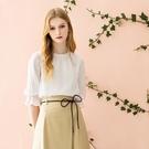 IENA 2021 Spring #1275004 小立領蕾絲袖上衣