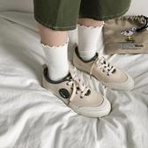 帆布鞋女學生韓版潮流低筒百搭鞋子2019夏款復古港味小白鞋 喵小姐