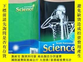 二手書博民逛書店scott罕見foresman science human bo
