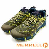 MERRELL AGILITY PEAK FLEX 綠 ML37709 男鞋