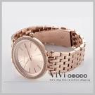 『Marc Jacobs旗艦店』免運費 美國代購 Michael Kors 玫瑰金晶鑽薄型時尚腕錶 ViVi歐日韓連線