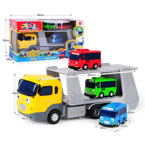 TAYO小巴士 凱莉運載車與好朋友們 原廠公司貨 TT14023