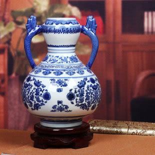 秒殺 景德鎮陶瓷器 青花瓷花瓶
