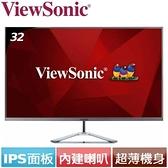 ViewSonic優派 32型 VX3276-2K-2 時尚無邊框IPS螢幕