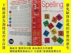 二手書博民逛書店DK罕見Workbooks: Spelling, Third Grade DK工作簿:拼寫,三年級 英文原版Y