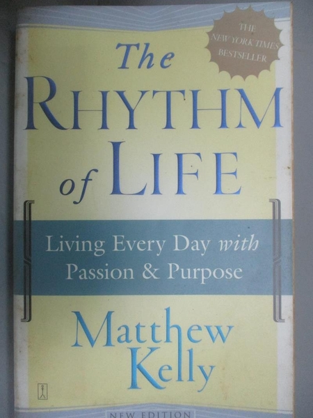 【書寶二手書T7/宗教_G8R】The Rhythm of Life: Living Every Day With Pa