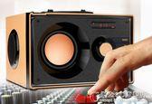 手機電腦無線木質藍芽音箱戶外 插卡FM收音 藍芽低音炮音箱 概念3C旗艦店