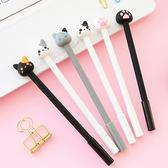 【BlueCat】黑白筆管貓咪與貓爪造型中性筆