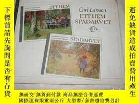 二手書博民逛書店Ett罕見Hem Spadarvet Carl Larsson