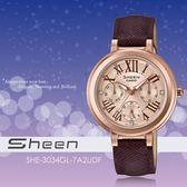 【人文行旅】Sheen   SHE-3034GL-7A2UDF 個性甜美