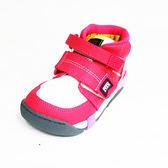 (A8) Moonstar 日本品牌 機能 抗菌 除臭中高筒運動鞋 魔鬼氈童鞋附贈鞋墊 CRC21404 桃紅 [陽光樂活]