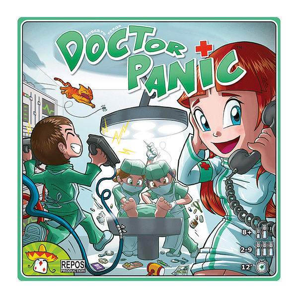 『高雄龐奇桌遊』 火線急救室 Doctor Panic 繁體中文版 正版桌上遊戲專賣店