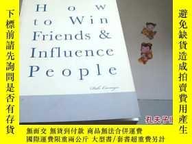 二手書博民逛書店how罕見to win friends influence pe