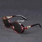 天然水晶石頭太陽眼鏡女士司機抗疲勞養眼護目防強光紫外線墨鏡