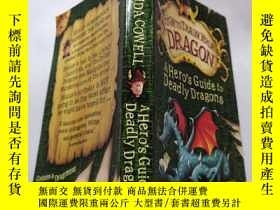 二手書博民逛書店A罕見hero s guide To deadly dragons:《致命龍的英雄指南》Y212829