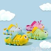 兒童洞洞鞋寶寶拖鞋夏1-3歲防滑2嬰幼兒女童兒童涼拖可愛軟底家居男童洞洞鞋嬡孕哺 618購物