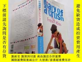 二手書博民逛書店Diary罕見of a crush French Kiss迷戀法國之吻日記Y212829