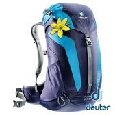 【德國 deuter】AC LITE 透氣網架背包 22SL『深藍/藍』3420216 登山.露營.休閒.旅遊.戶外.後背包