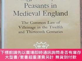 二手書博民逛書店Kings,罕見Lord, And Peasants In Medieval EnglandY255174 P