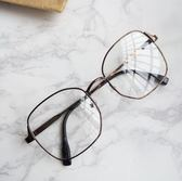 眼鏡框  方形情侶眼鏡平光鏡文藝眼鏡架