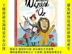 二手書博民逛書店英文原版罕見綠野仙蹤 Alma兒童文學經典 The Wonderful Wizard of Oz (Alma Ju