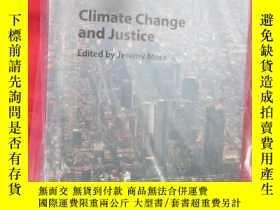 二手書博民逛書店Climate罕見Change And Justice (小16