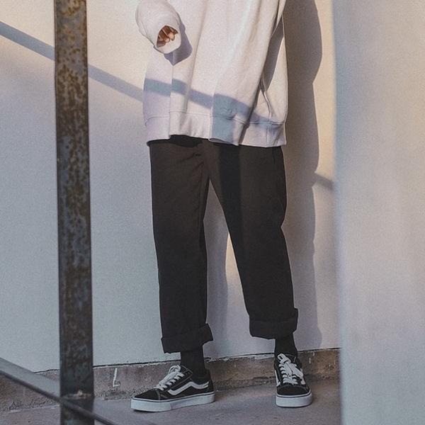 大尺碼女裝直筒工裝褲學生大碼女裝胖MM200斤夏韓國寬松顯瘦ulzzang闊腿褲子