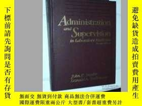 二手書博民逛書店Administration罕見and Supervision in Laboratory Medicine-檢驗