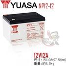 【CSP】YUASA湯淺NP12-12