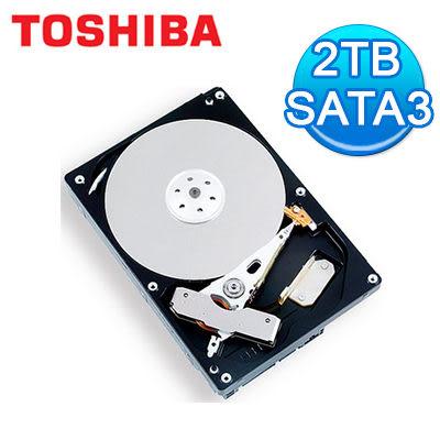 Toshiba3.5吋2TB硬碟