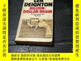 二手書博民逛書店DEIGHTON罕見BILLION -DOLLAR BRAINY