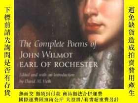 二手書博民逛書店The罕見Complete Poems Of John Wilmot, Earl Of RochesterY3