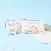 日貨角落生物皮革方型扁零錢包- Norns 日本進口 麵包教室 貓咪手足