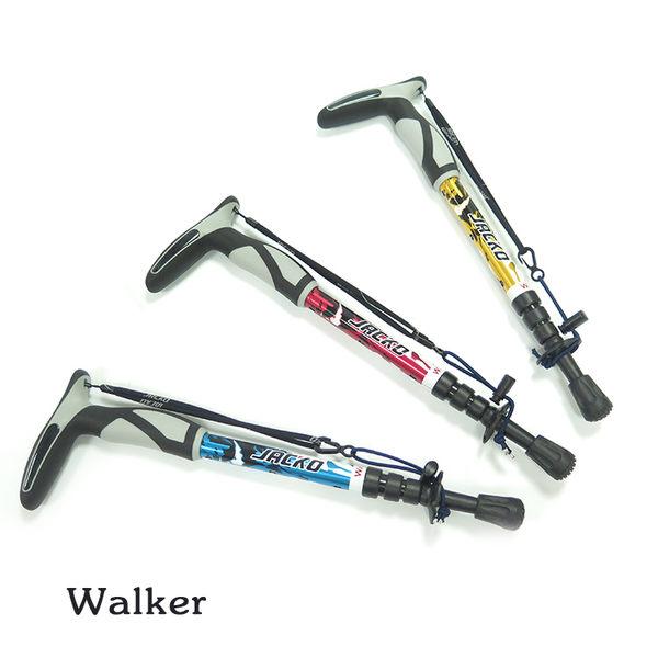 ▼熱銷款▼JACKO Walker 登山杖(1支) / 城市綠洲(健行.爬山.郊山.鋁合金.T把)