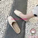 包頭半拖鞋女夏外穿韓版平底時尚穆勒網紅無...