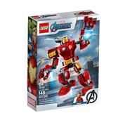 76140【LEGO 樂高積木】漫威英雄系列 Marvel - 鋼鐵人機甲