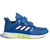 Adidas Climacool Vent Cf 男女孩 藍 童鞋 運動鞋 螢光 輕量 透氣 慢跑鞋 魔鬼氈 耐磨 BD7173