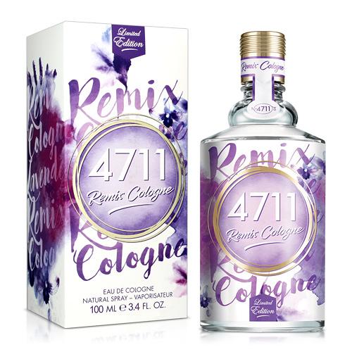 No.4711 Remix Cologne Lavender經典薰衣草古龍水(100ml)【ZZshopping購物網】