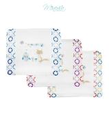 Minerva米諾娃 | 【魔法星紗布系列】3D透氣Q棉護頭型嬰兒枕(附雙枕套)