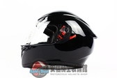 [安信騎士] 義大利 AGV K-3 SV K3 SV 素色 黑色 全罩 安全帽 送涼感頭套