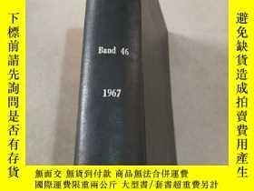 二手書博民逛書店din罕見mitteilungen Band 46 1967 發