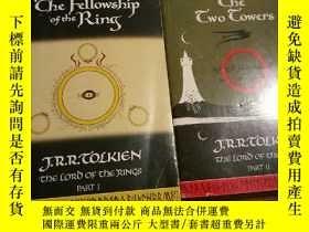二手書博民逛書店The罕見Fellowship of the Ring & Th