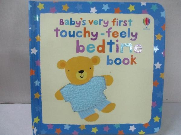 【書寶二手書T3/少年童書_BQS】Baby s Very First Touchy-feely Bedtime Book_Stella Baggott